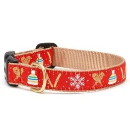 Up Country Snowshoes Dog Collar