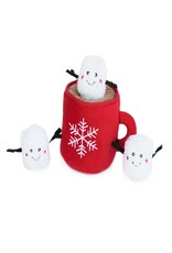 Zippy Paws Hot Cocoa Burrow Dog Toy
