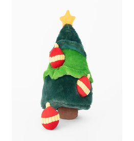 Zippy Paws Christmas Tree Burrow Dog Toy