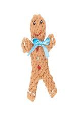 Jax & Bones George the Gingerbread Rope Dog Toy