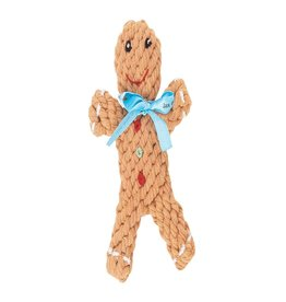 Jax & Bones George the Gingerbread Rope Dog Toy