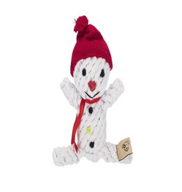 Jax & Bones Scott the Snowman Rope Dog Toy