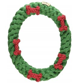 Jax & Bones Holiday Ring Rope Dog Toy