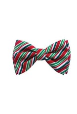 Huxley & Kent Candy Cane Bow Tie