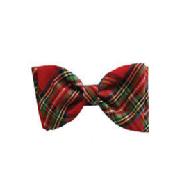 Huxley & Kent Red Plaid Bow Tie