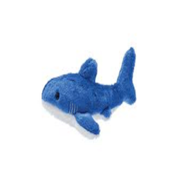 Fluff & Tuff Baby Bruce Shark Dog Toy