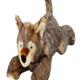 Fluff & Tuff Lobo Wolf Pup Dog Toy
