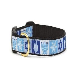 Up Country Hannukah Dog Collar