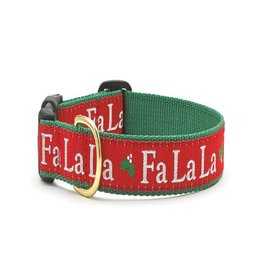 Up Country Fa La La La Xmas Dog Collar