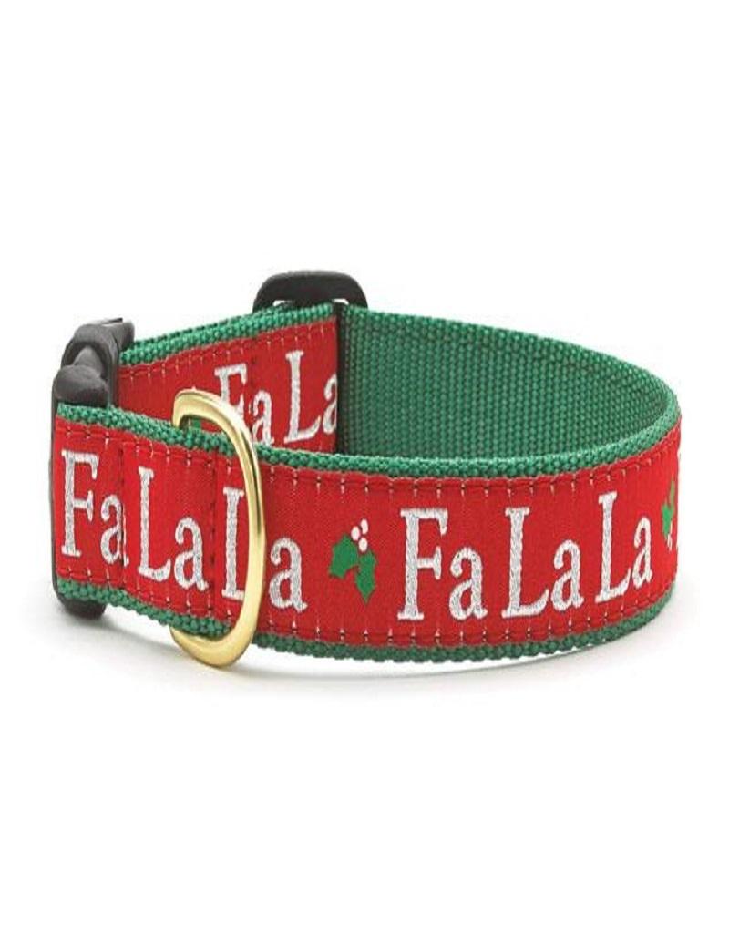 Up Country Fa La La La Xmas Dog Collar