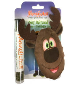Meowijuana Get Blitzed Reindeer Refillable Cat Toy