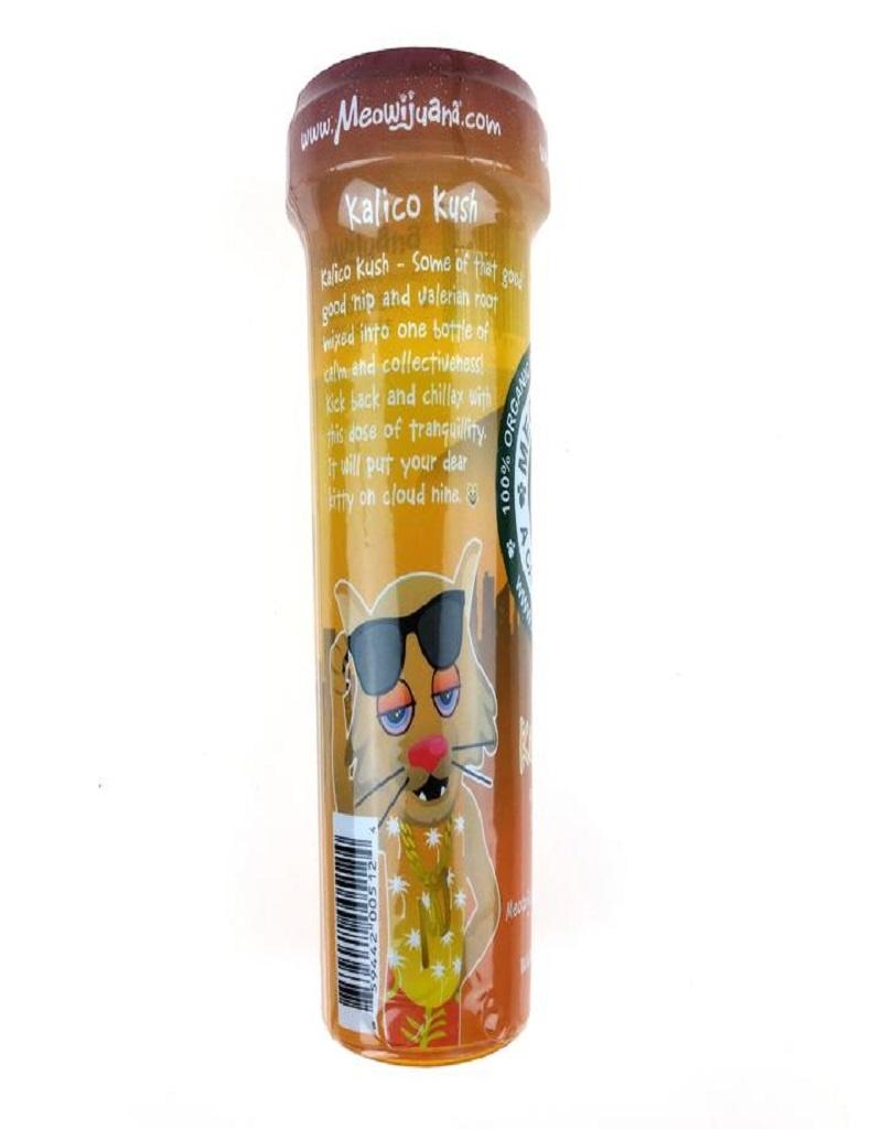 Meowijuana Kalico Kush Catnip & Valerian Root Blend Catnip, 0.92 oz