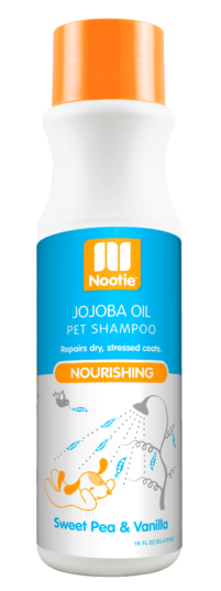 Nootie Nourishing Shampoo – Sweet Pea & Vanilla, 16 oz.