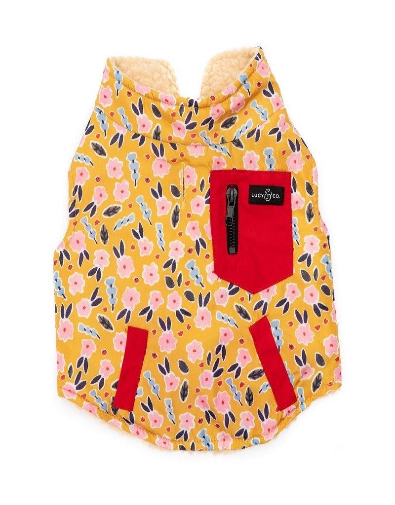 Lucy & Co. Little Lamb Reversible Teddy Vest