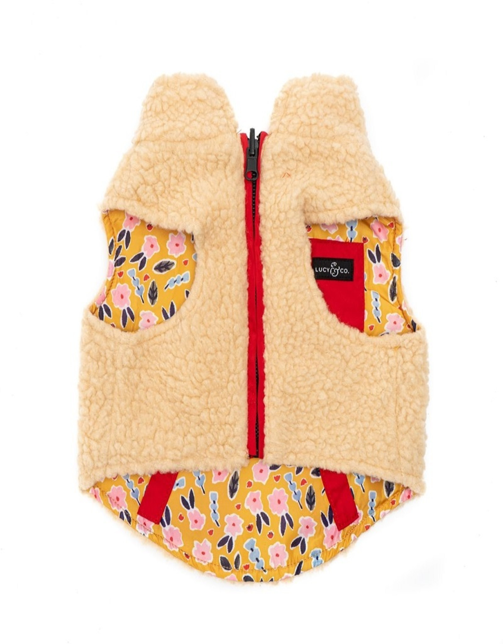 Lucy & Co. Little Lamb Reversible Teddy Vest