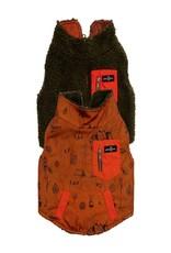 Lucy & Co. Big Bear Reversible Teddy Vest