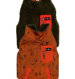Lucy & Co. Big Bear Reversible Teddy Vest