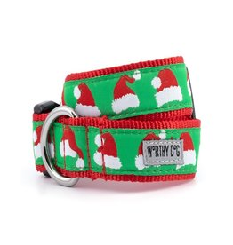 The Worthy Dog Santa Hat Dog Collar