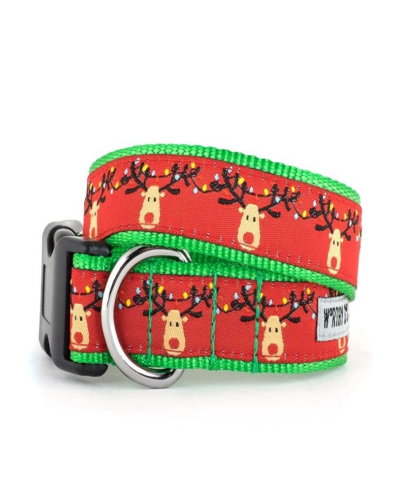 The Worthy Dog Rudy Holiday Dog Collar