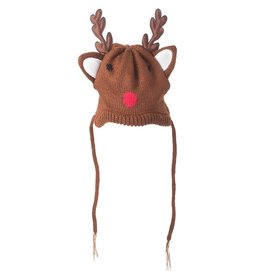 The Worthy Dog Reindeer Dog Hat