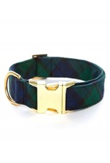 The Foggy Dog Blackwatch Plaid Dog Collar