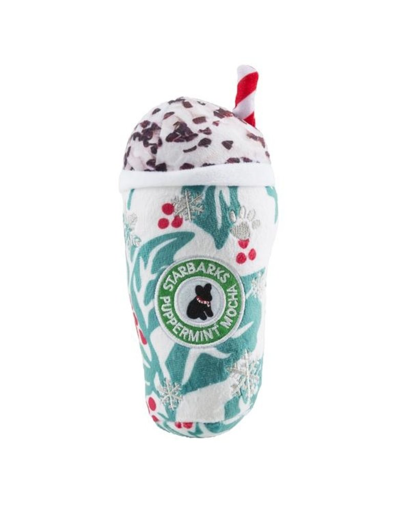 Haute Diggity Dog Holly Leaves Puppermint Mocha Cup