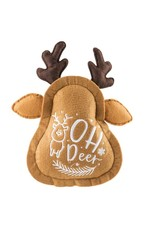Haute Diggity Dog Christmas Reindeer Cookie Toy