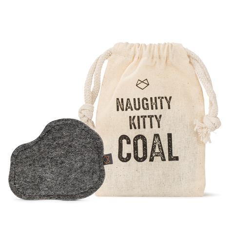 Modern Beast Naughty Kitty Coal Catnip Toy