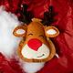 Haute Diggity Dog Christmas Reindeer Cookie Toy