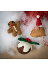 The Foggy Dog Figgy Pudding Holiday Cat Toy