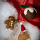 The Foggy Dog Gingerbread Man Cat Toy
