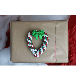 Jax & Bones Holiday Heart Rope Toy