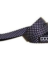 DOOG Black with White Dots Dog Lead