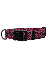Yellow Dog Design Leopard Print Dog Collar