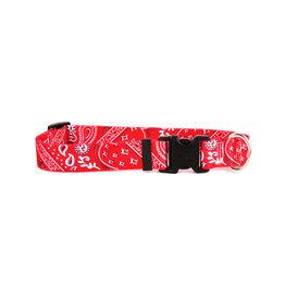 Yellow Dog Design Red Bandana Dog Collar