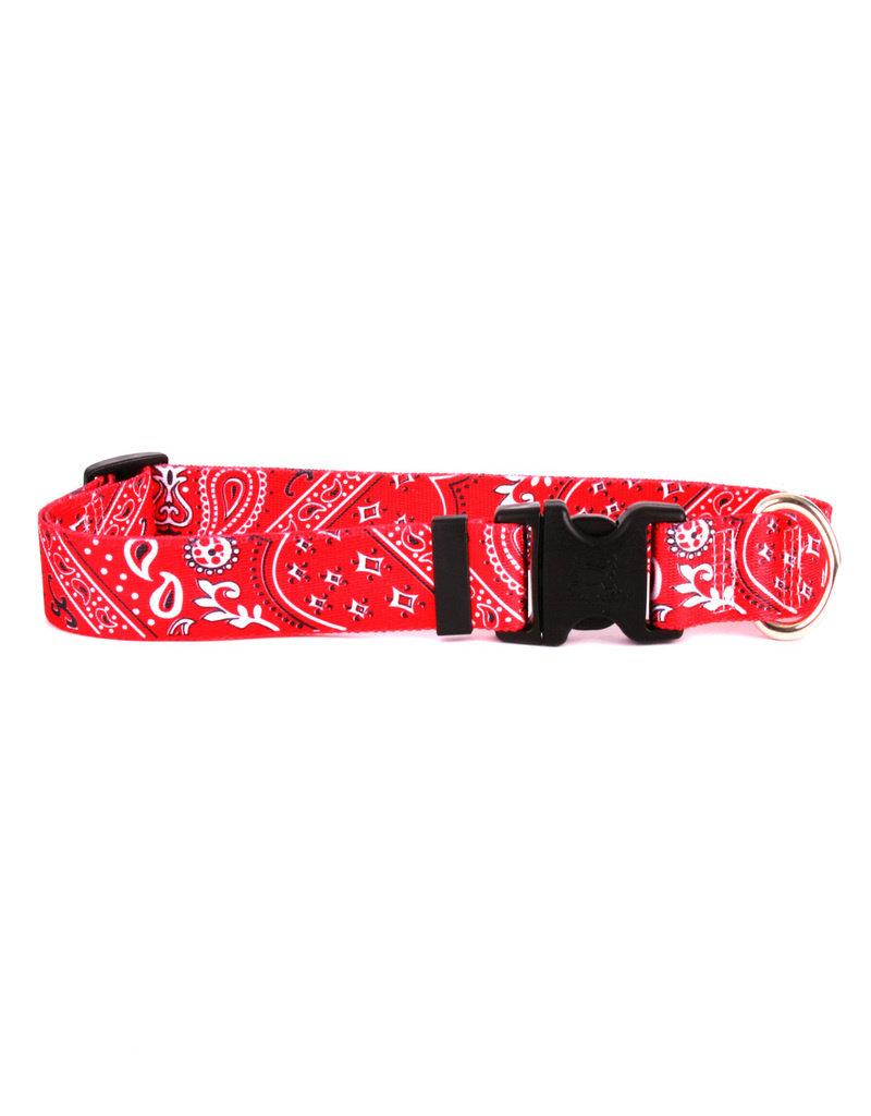 Yellow Dog Design Red Bandana Cat Collar