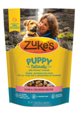 Zukes Puppy Naturals Pork & Chickpea Recipe Puppy Treats, 5 oz.