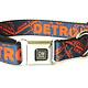 The Detroit Mercantile Co Navy Detroit Seatbelt Dog Collar