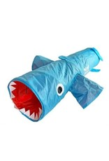 R2P Pet Mad Cat Jumpin Jaws Shark Cat Tunnel Toy