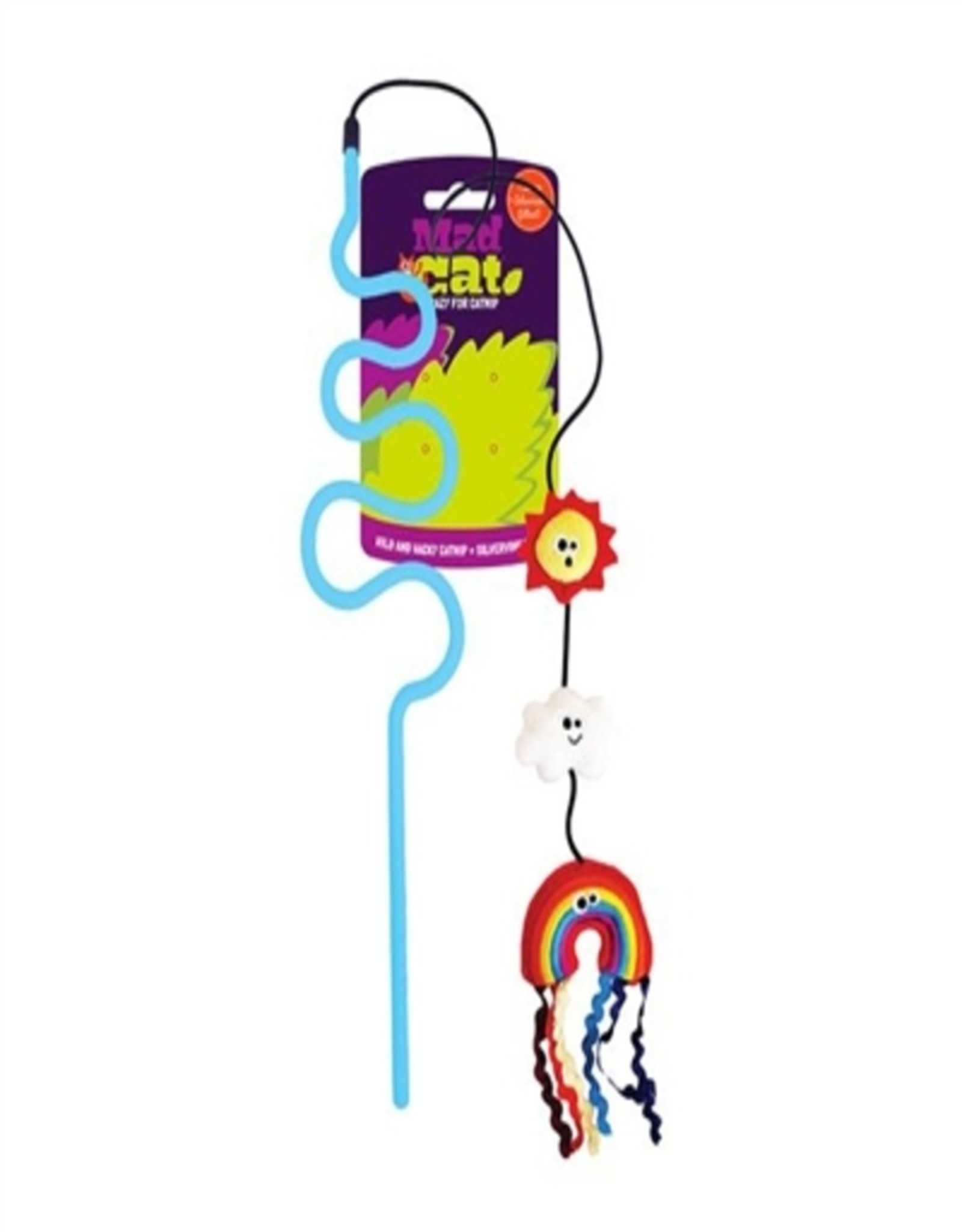 R2P Pet Mad Cat Rainbow Chaser Wand Cat Toy