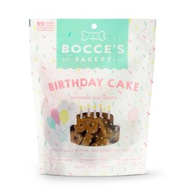 Bocce's Bakery Birthday Cake Awesome Dog Treats with Peanut Butter, 5 oz.