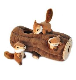Zippy Paws Log Burrow Dog Toy