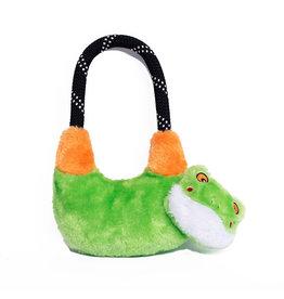 Zippy Paws Tree Frog Rope Hangerz Dog Toy