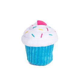 Zippy Paws Plush Cupcake Dog Toy