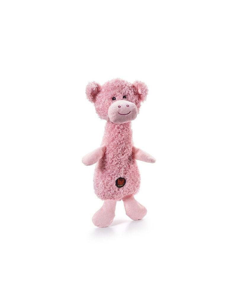 Charming Pet Scruffles Pig Plush Dog Toy