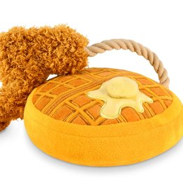 P.L.A.Y. Chicken & Woofles Plush Dog Toy