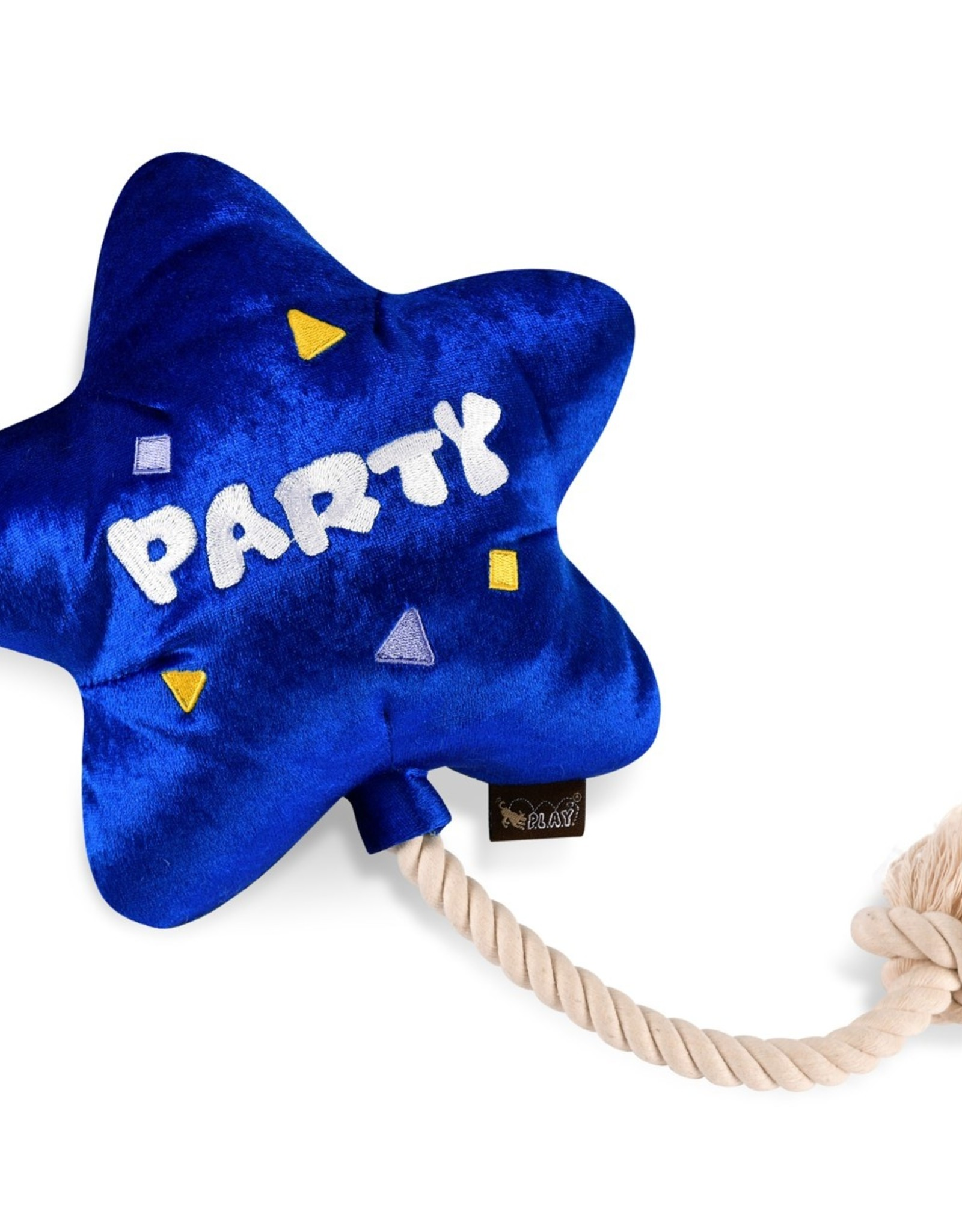 P.L.A.Y. Best Day Ever Balloon Plush Dog Toy