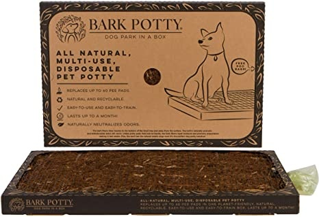 Bark Potty Disposable, Multi-Use Pad for Dogs
