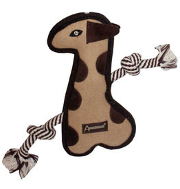 Aussie Naturals Tuff Mutts Giraffe Dog Toy