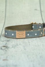 Finnegan's Standard Goods Stars Dog Collar